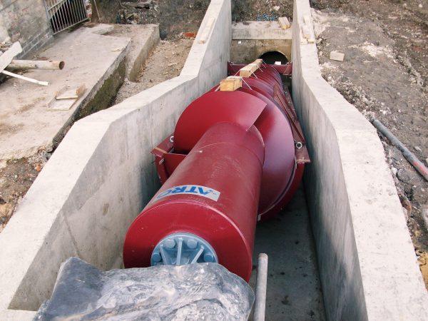 screw turbine hydro power