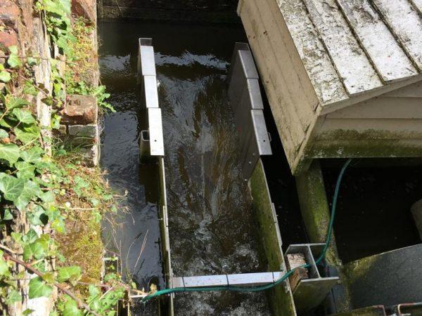 Flatford Fish pass repair
