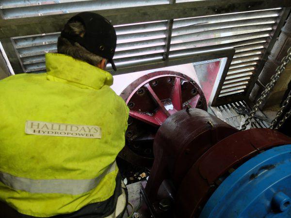 Hallidays Hydropower team